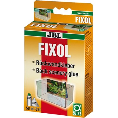 JBL FIXOL Rückwandkleber für Aquarien 50 ml